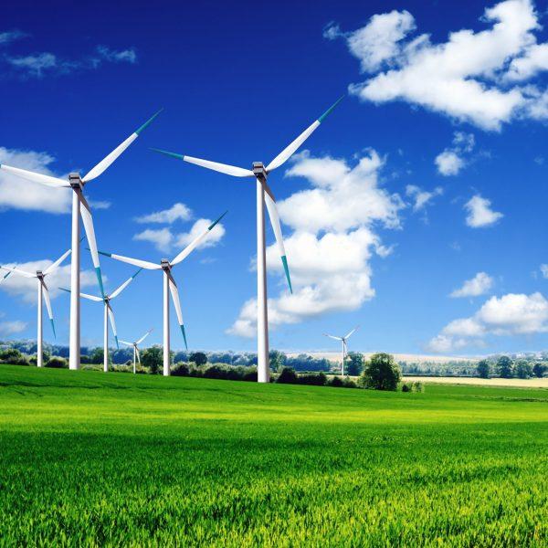 11008411 - wind turbines landscape